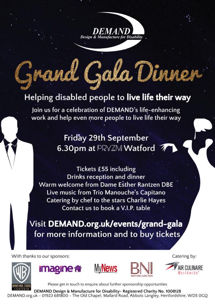 DEMAND Grand Gala poster