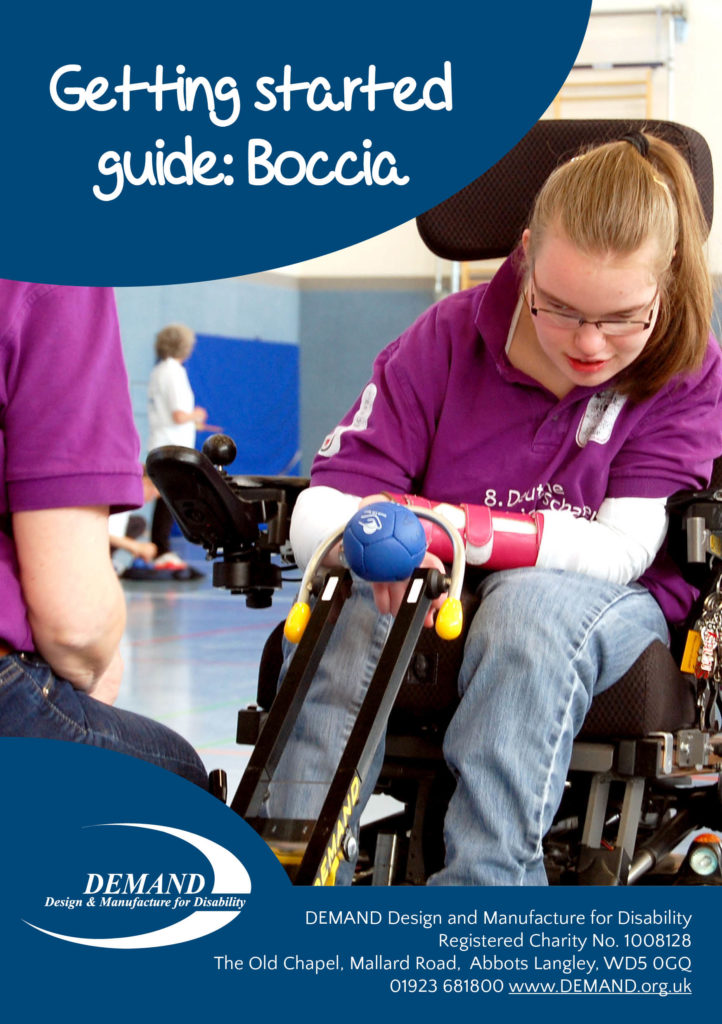 Boccia getting started guide