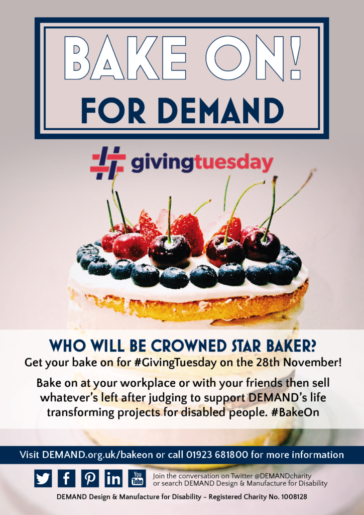 BAKE ON! for DEMAND poster