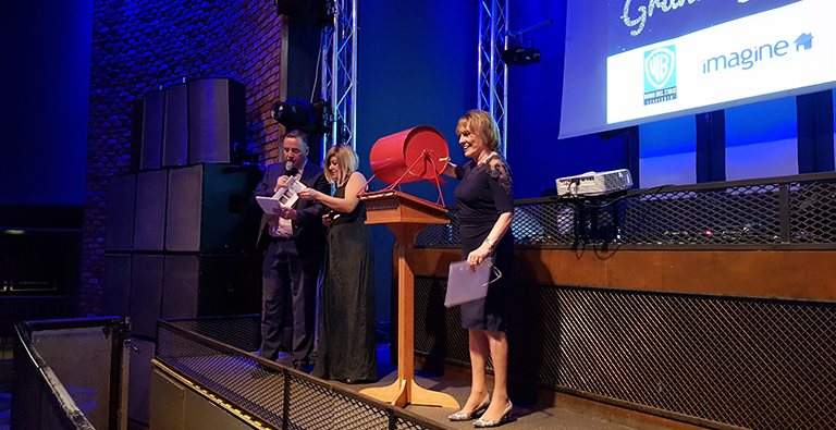 Esther Rantzen and John Hunt at DEMAND's Grand Gala