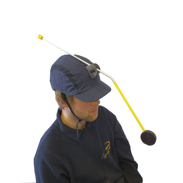 DEMAND Boccia Head Pointer In Use
