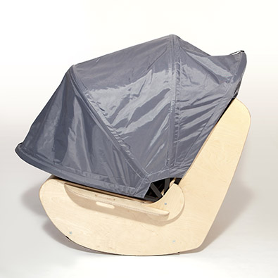 DEMAND Sensory Shell Chair Hood Down